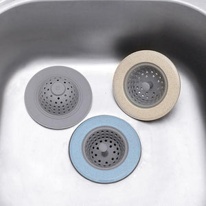 Silicone Kitchen Sink Drain Blocker