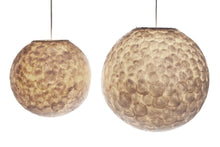Afbeelding in Gallery-weergave laden, Ball Hanging Lamp Schelpen Wit Design