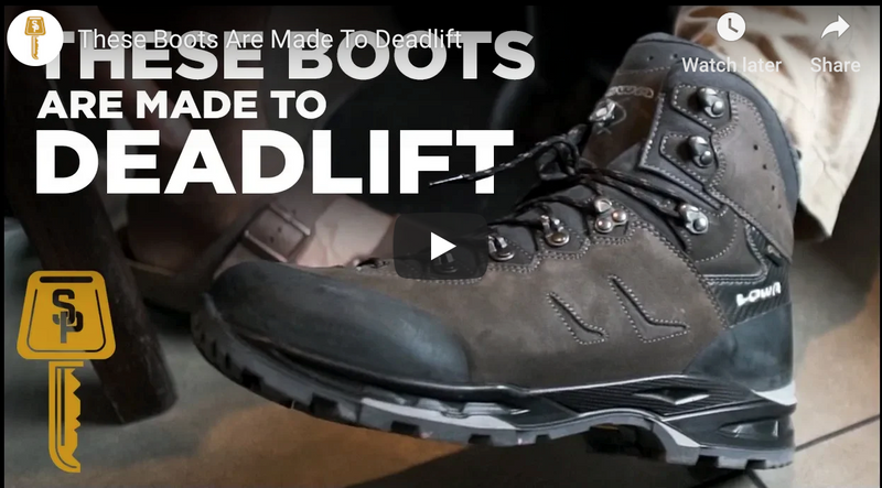 These Boots Are Made To Deadlift