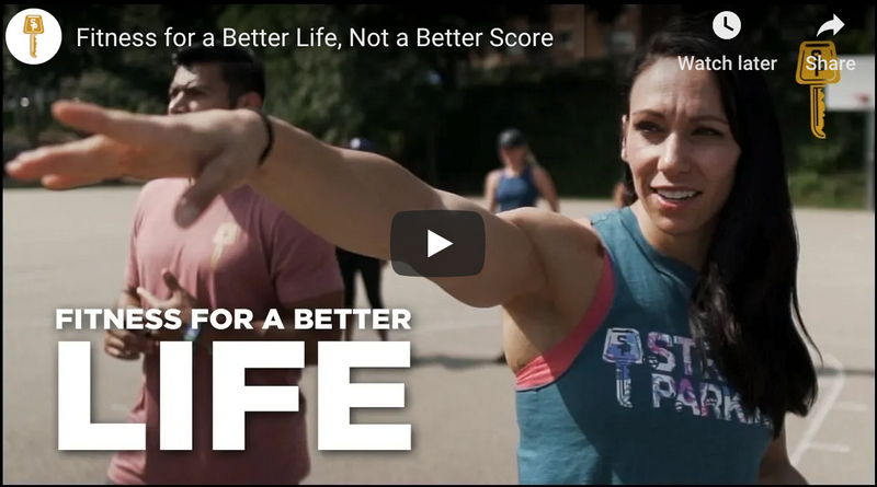 Fitness for a Better Life, Not a Better Score