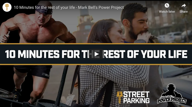 10 Minutes for the rest of your life - Mark Bell's Power Project