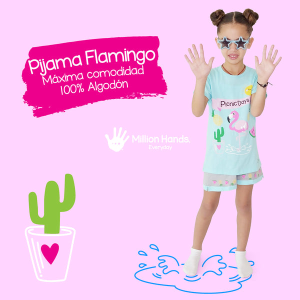 Pijama Flamingo - Million Hands 2 Pack
