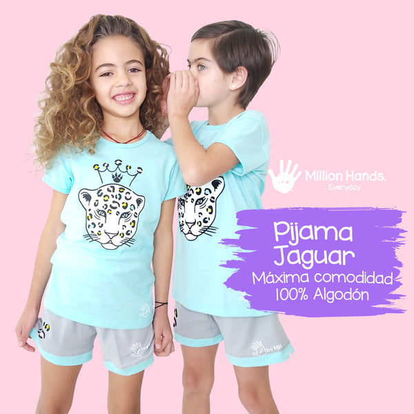 Pijama Princess Jaguar - Million Hands 2 Pack