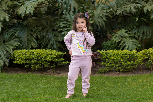 Pijama Arcoiris Niña - Million Hands 2 Pack