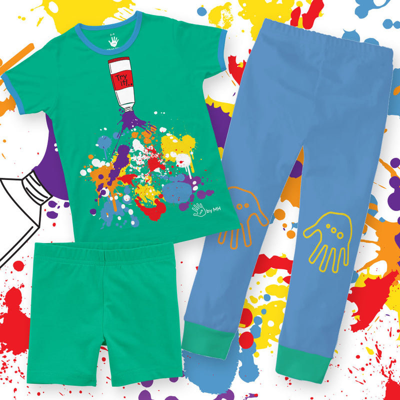 Pijama Colors Niño Million Hands 3-Pack