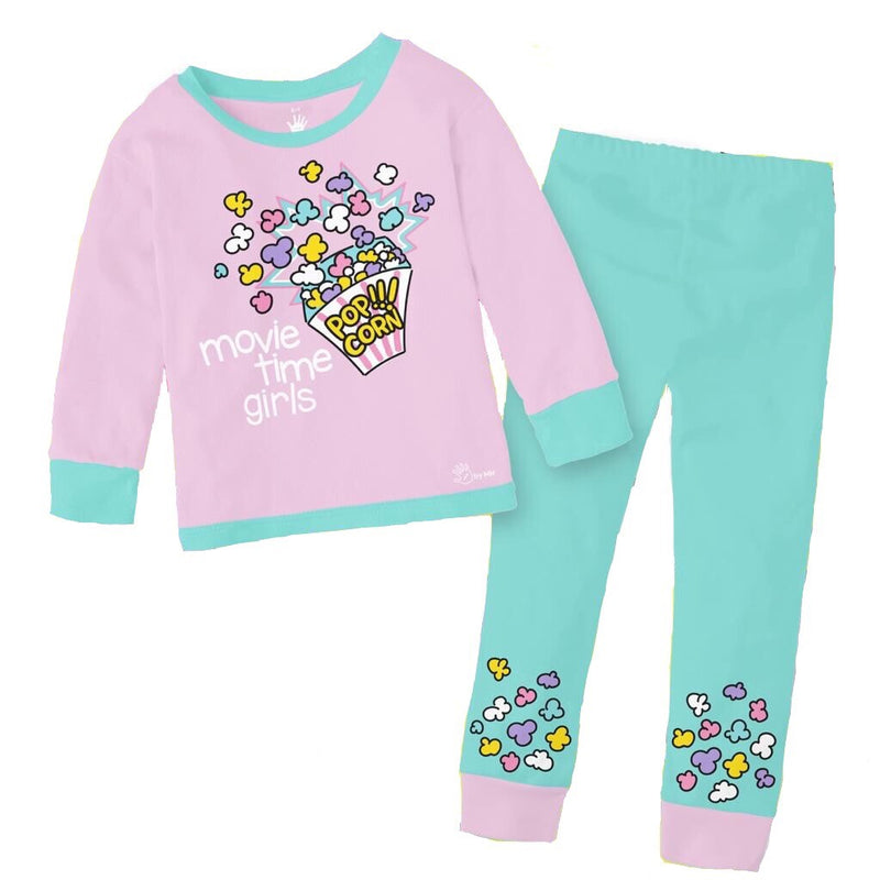 Pijama Popcorn Niña - Million Hands 2 Pack