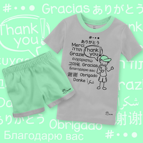 Pijama Gracias Niño - Million Hands 2 Pack