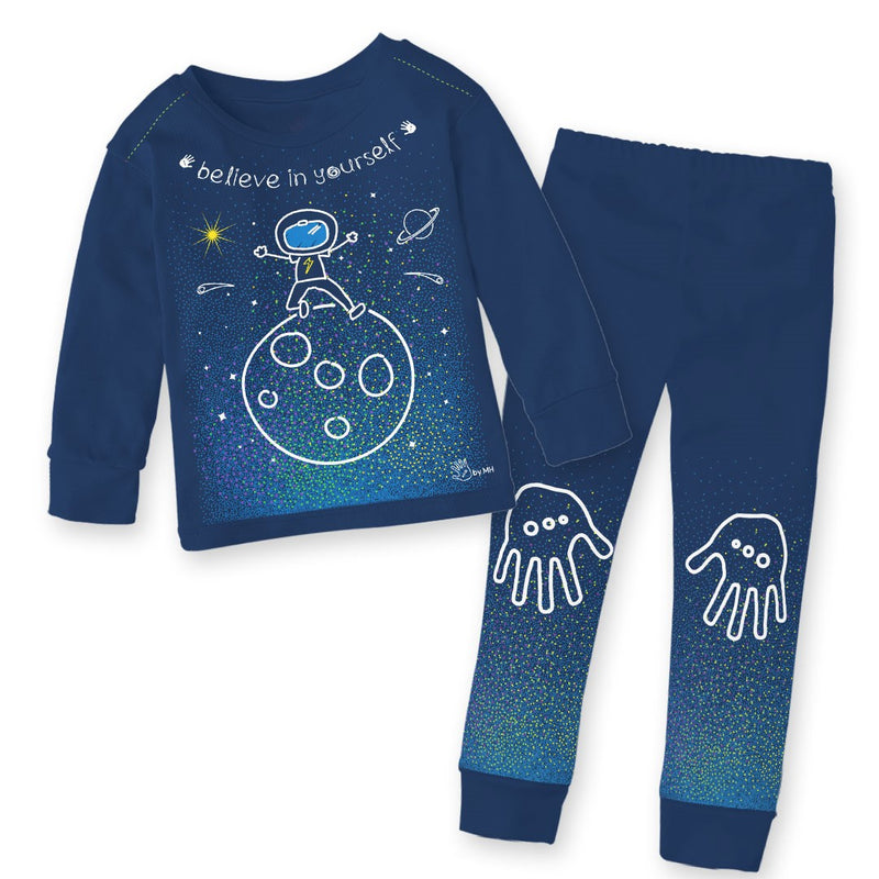 Pijama Universo Niño - Million Hands 2 Pack