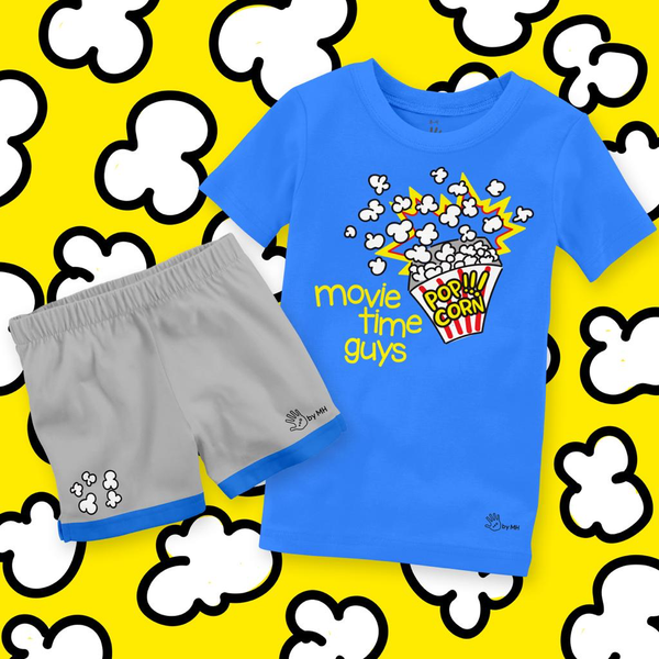 Pijama PopCorn Niño -  Million Hands 2 Pack