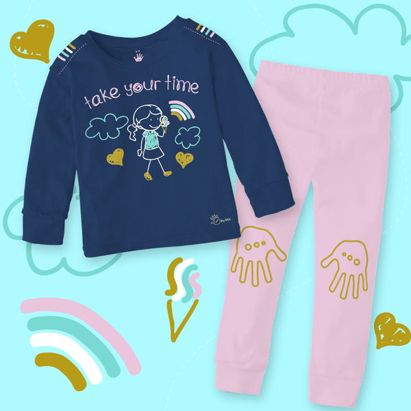 Pijama Helado Niña - Million Hands 2 Pack