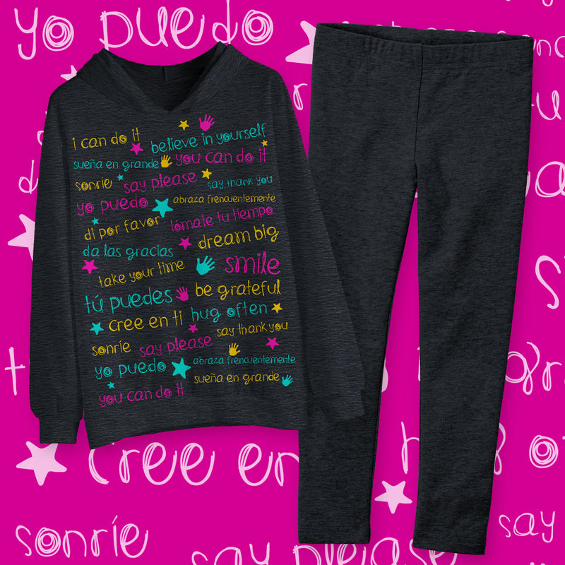 Coordinado de Leggings MSM Niña - Million Hands