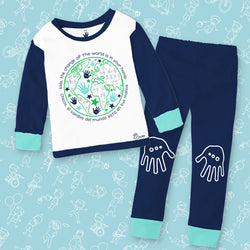Pijama Mundo Niño - Million Hands 2 Pack