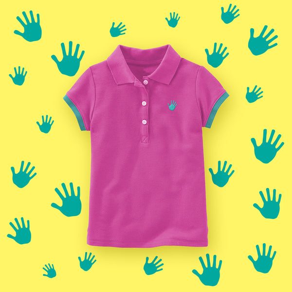 Playera Polo Niña - Million Hands