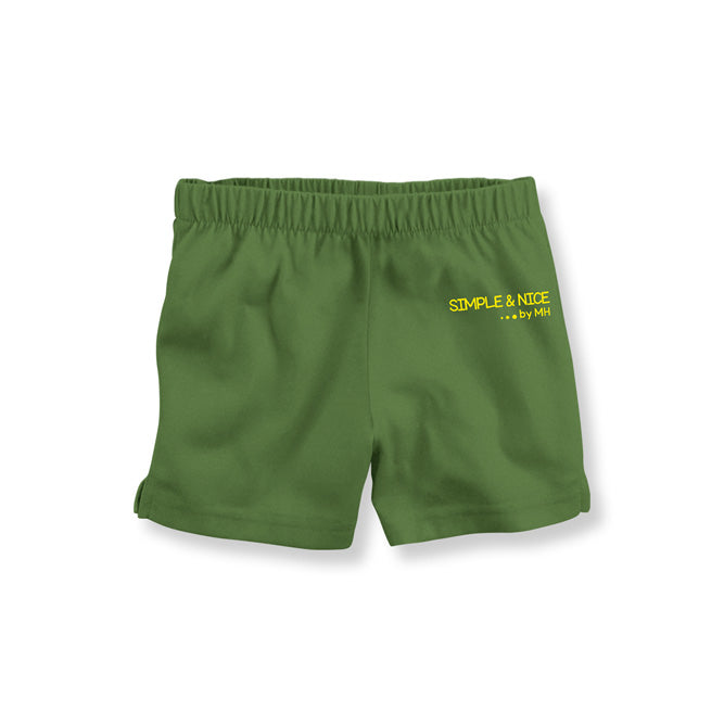 Short Verde Militar Simple And Nice