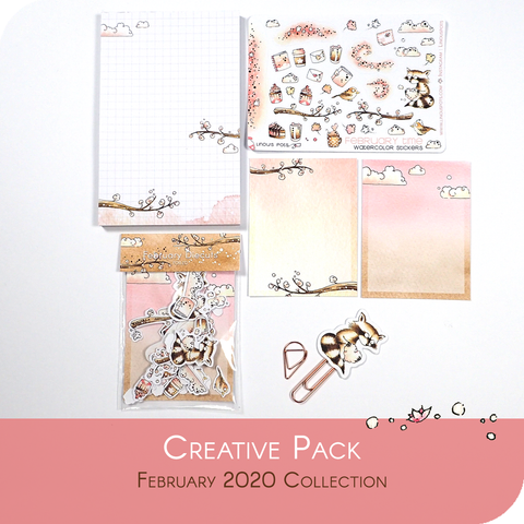February 2020 Collection - CREATIVE BUNDLE