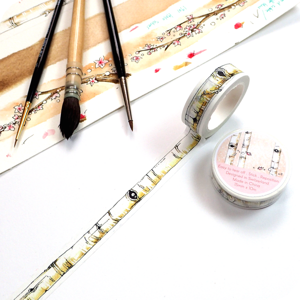 Washi Tape for Spring - Birch Tree
