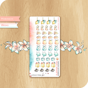 Summer 2020 Collection for HOBONICHI WEEKS - House Chores