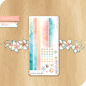 Summer 2020 Collection for HOBONICHI WEEKS - Bottom Bars & Washis