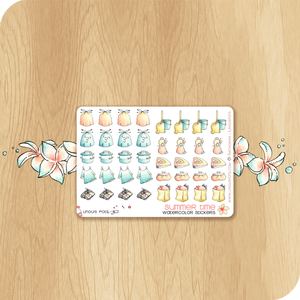 Summer 2020 Collection MINI SHEET - House Chores