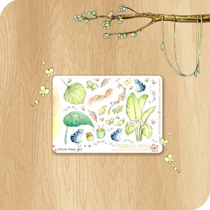 March 2021 Collection MINI SHEET - Frogs & Leaves