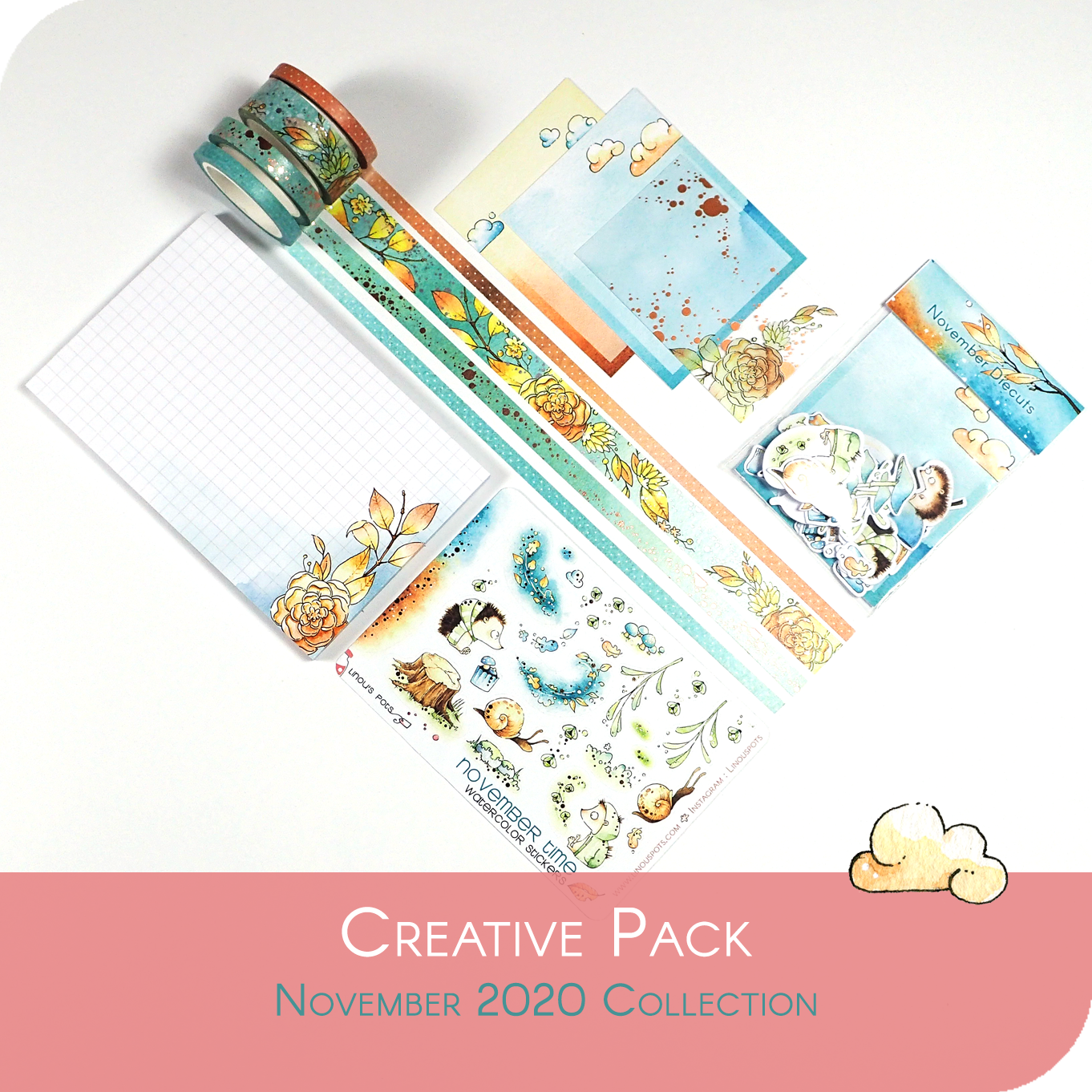 November 2020 Collection - CREATIVE BUNDLE