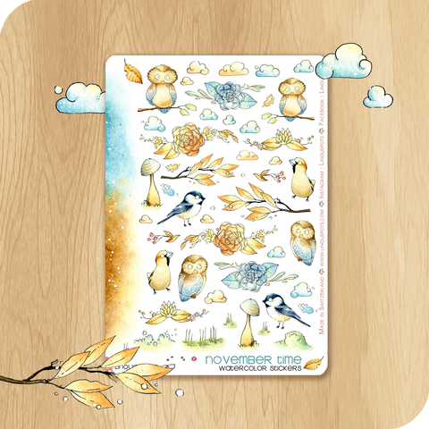November 2020 Collection - Decorative Illustrations - Birds