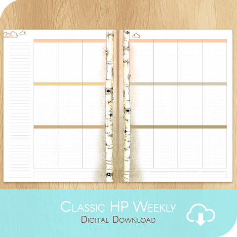 February 2020 Collection - Printable Classic Happy Planner Size - 1 Week on 2 Pages
