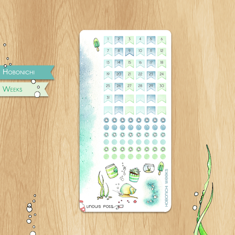 June 2019 Collection for HOBONICHI WEEKS - Monthly Dates