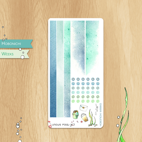 June 2019 Collection for HOBONICHI WEEKS - Bottom Bars and Washis