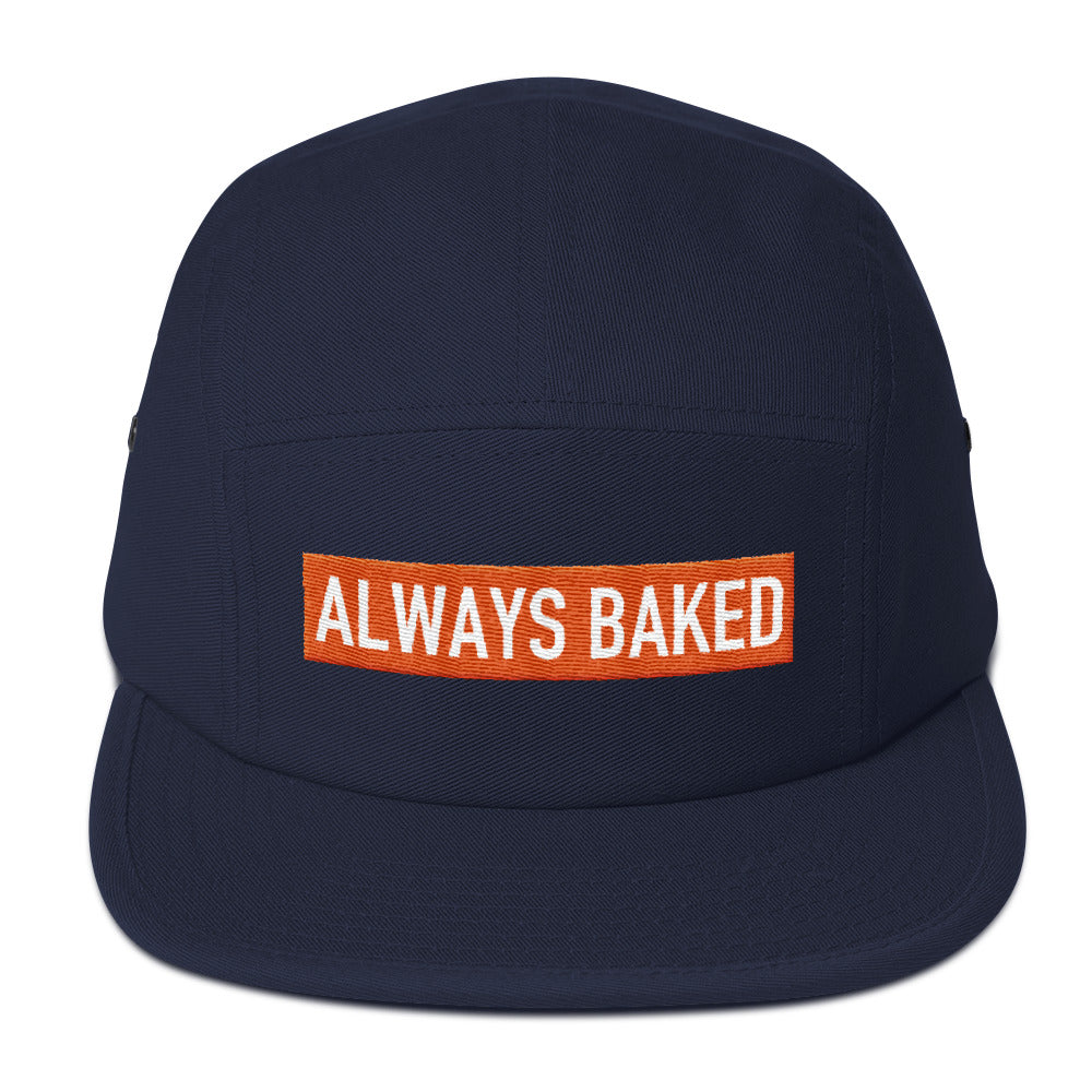 Always Baked Block Logo 5 Panel Camper Hat