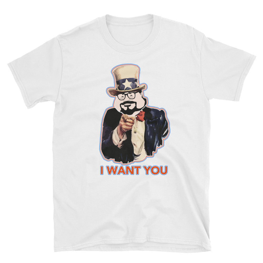"""I WANT YOU"" July the 4th Short-Sleeve Unisex T-Shirt"