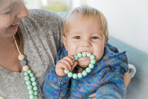 NEW WAVE OF TEETHING JEWELLERY: STYLE FOR MUM, SAFE FOR BABY