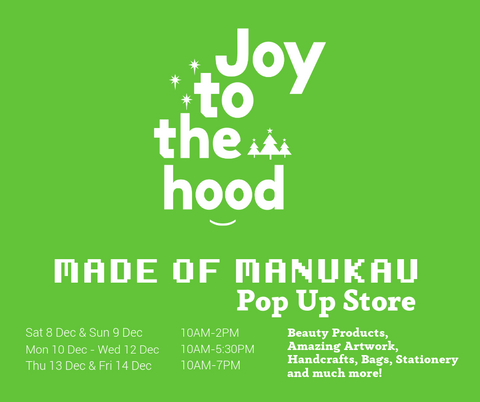 Pop up gift shop made in manukau