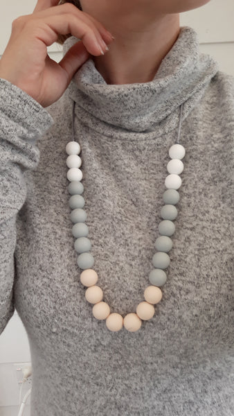 All natural teething necklace