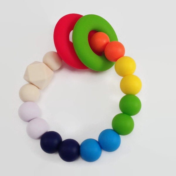 Chewable silicone bracelet