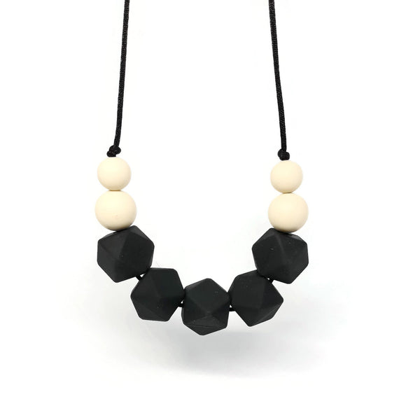 Smart teething necklace