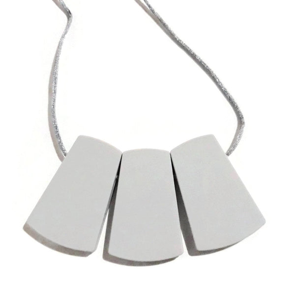 Gray chewable jewellery