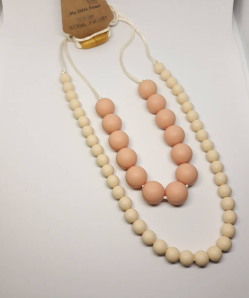 natural double necklace for mum