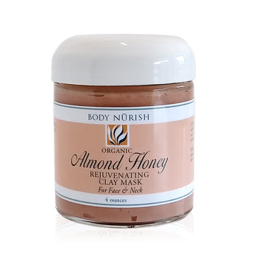 Body Nurish Organic Almond Honey Clay Mask