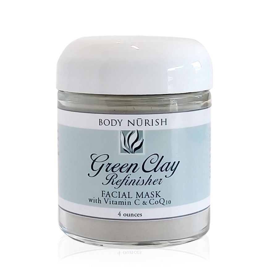 Body Nurish Green Clay Refinisher Facial Mask
