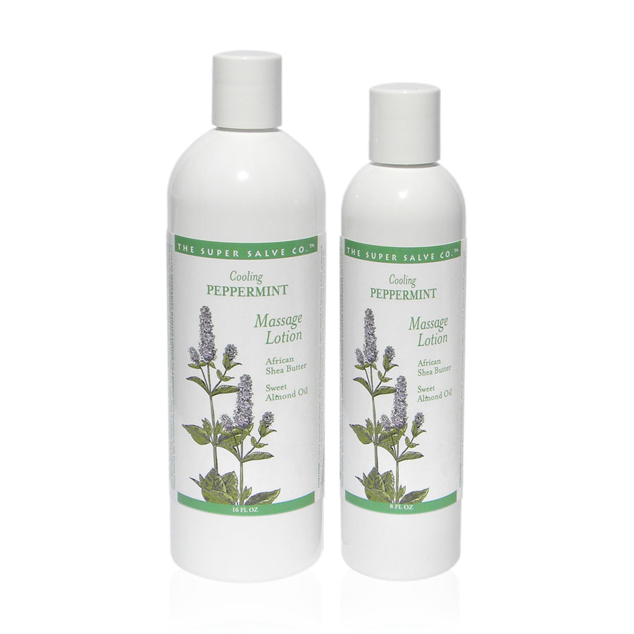 Cooling Massage Lotion - Peppermint Blend