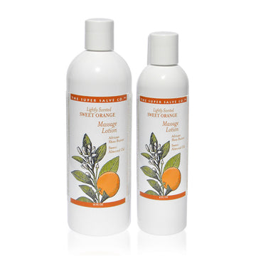 Lightly Scented Sweet Orange Massage Lotion