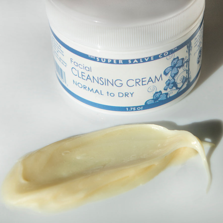 Facial Cleansing Cream for Normal to Dry Skin