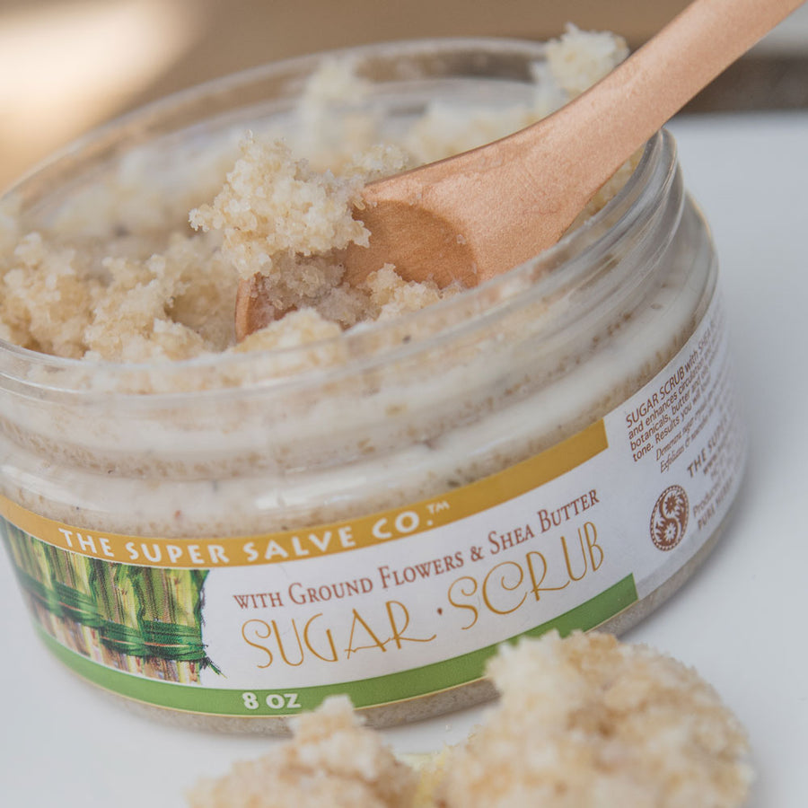 Sugar Scrub with Shea Butter