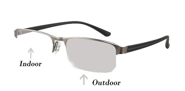 914af9fdf85b WEARKAPER Transition Sun Readers Photochromic Reading Glasses Men Hyperopia  Presbyopia with diopters Outdoor Presbyopia Glasses