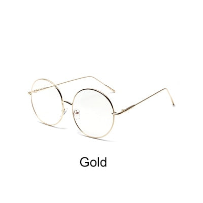 44a476a119 Ralferty 2018 Oversized Round Eyeglasses Frame Decorated Circle Eyewear Eye  Glasses Frames For Women Lunette Spectacles