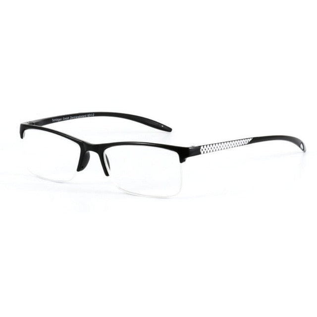 86de7c1ed17 Unisex Reading Glasses Presbyopic Eyeglasses Full Frame +100 +125 + ...