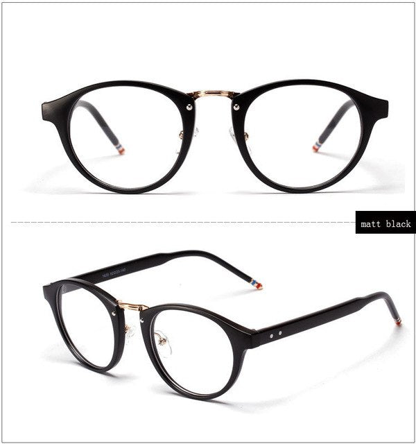 Ralferty Stylish Eyeglasses Frames With Clear Lens, Women Black ...