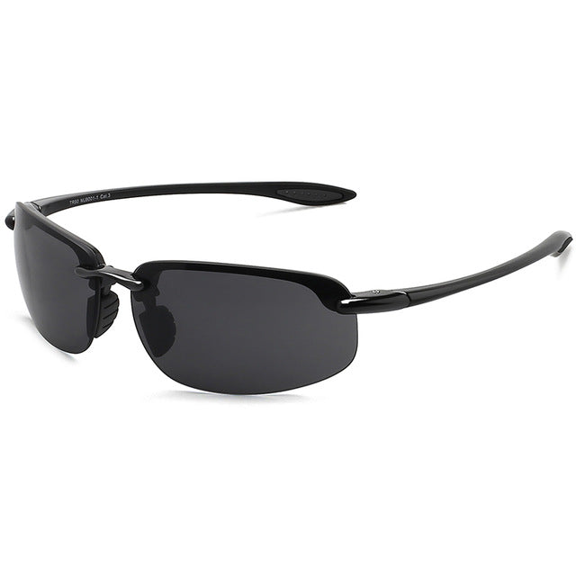 35de434cd4a9 JULI Classic Sports Sunglasses Men Women Male Driving Golf Rimless  Ultralight Frame Sun Glasses UV400 Gafas