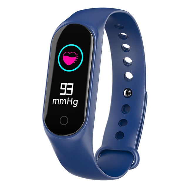 30816ace4240 LUOKA M3 Smart Bracelet Color-screen IP67 Fitness Tracker blood pressure  Heart Rate Monitor Smart band For Android IOS phone